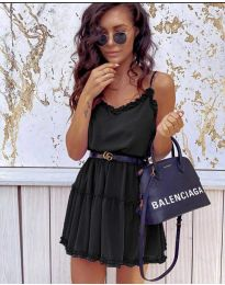 Фустан - код 7758 - црна