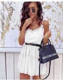 Фустан - код 7758 - бела