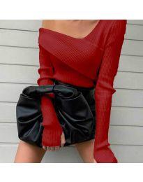 Блуза - код 6250 - црвена
