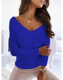 Блуза - код 0308 - небесно сина