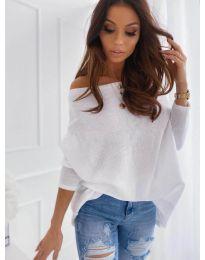 Блуза - код 0065 - бело