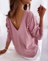 Блуза - код 5173 - 6 - розова