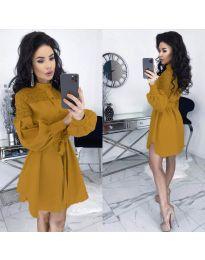 Фустан - код 6364 - окер