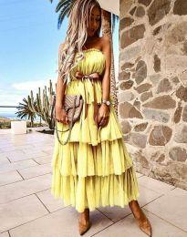 Фустан - код 1543 - жолта