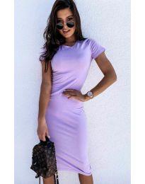Фустан - код 682 - светло виолетова
