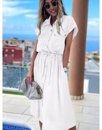 Фустан - код 0014 - бела