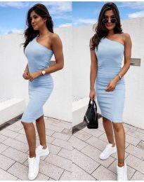 Фустан - код 0208 - светло сина