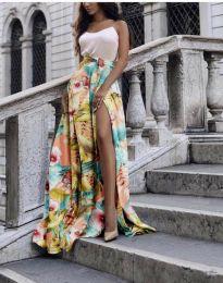 Сукња - код 4677 - шарена