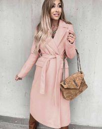 Палто - код 0876 - розова