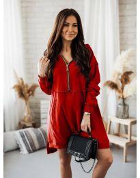 Фустан - код 6113 - црвена