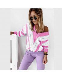 Блуза - код 0907 - розова