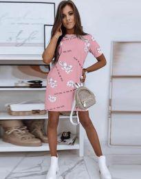 Фустан - код 2906 - розова