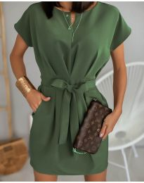 Фустан - код 772 - путер зелена