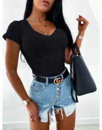 Блуза - код 756 - црна