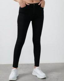 Фармерки - код 0693 - 1 - црна