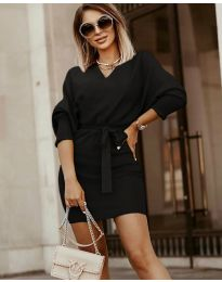 Фустан - код 9876 - црна
