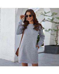 Фустан - код 785 - сиво