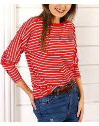 Блуза - код 3328 - црвена