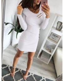 Фустан - код 3298 - бело
