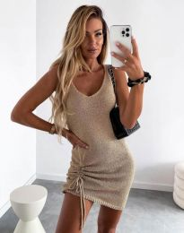Фустан - код 2034 - кремова
