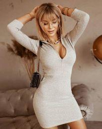 Фустан - код 11643 - сиво