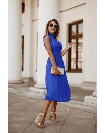 Фустан - код 8090 - темно сина