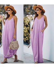 Фустан - код 0209 - светло виолетова
