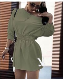 Фустан - код 7470 - путер зелена