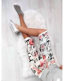 Кратки панталони - код 180 - бело