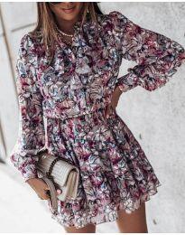 Фустан - код 6014 - 1 - шарено