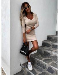 Фустан - код 4040 - кремова