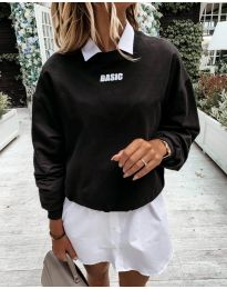 Блуза - код 5154 - црна