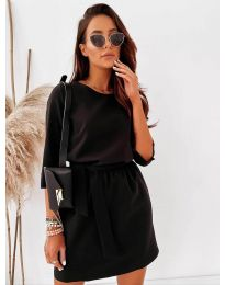 Фустан - код 778 - црна