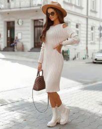 Фустан - код 8203 - кремова