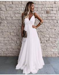 Фустан - код 5244 - бело