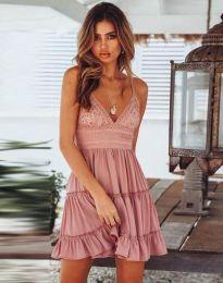 Фустан - код 7115 - 3 - пудра
