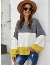 Блуза - код 970 - жолта