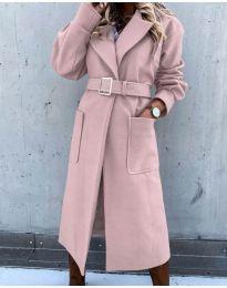 Палто - код 423 - розова