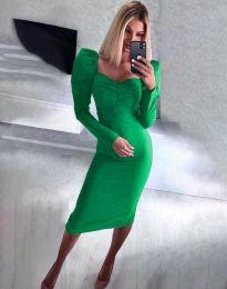Фустан - код 3865 - зелена