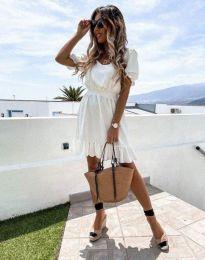 Фустан - код 6460 - бело
