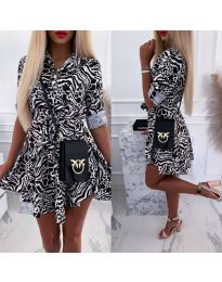 Фустан - код 841 - 2 - шарено