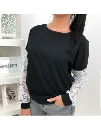 Блуза - код 4060 - 1 - црна
