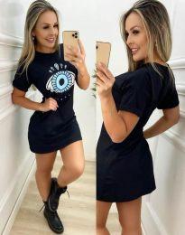 Фустан - код 0212 - 1 - црна