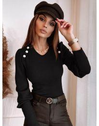 Блуза - код 3111 - црна