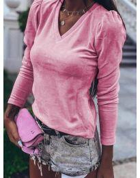 Блуза - код 0755 - розова