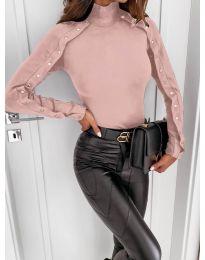 Блуза - код 4179 - розова