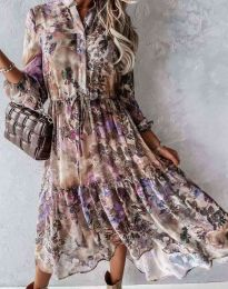 Фустан - код 9660 - 1 - шарено