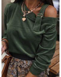 Блуза - код 280 - путер зелена