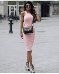Фустан - код 754 - розова