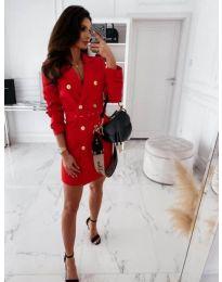 Фустан - код 5888 - 4 - црвена